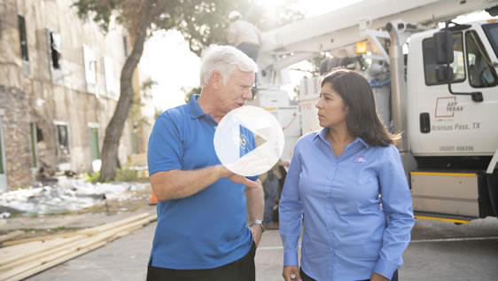 AEP Texas Video: Disaster Recoveries